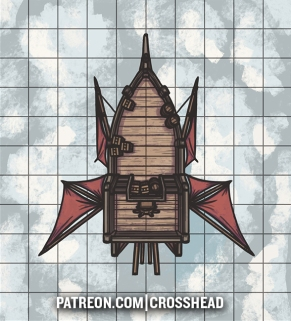 SMALL AIRSHIP D&D NO GRID LQ