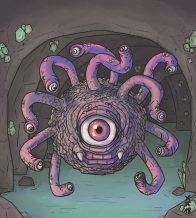 MONSTER BACKGROUNDS - BEHOLDER